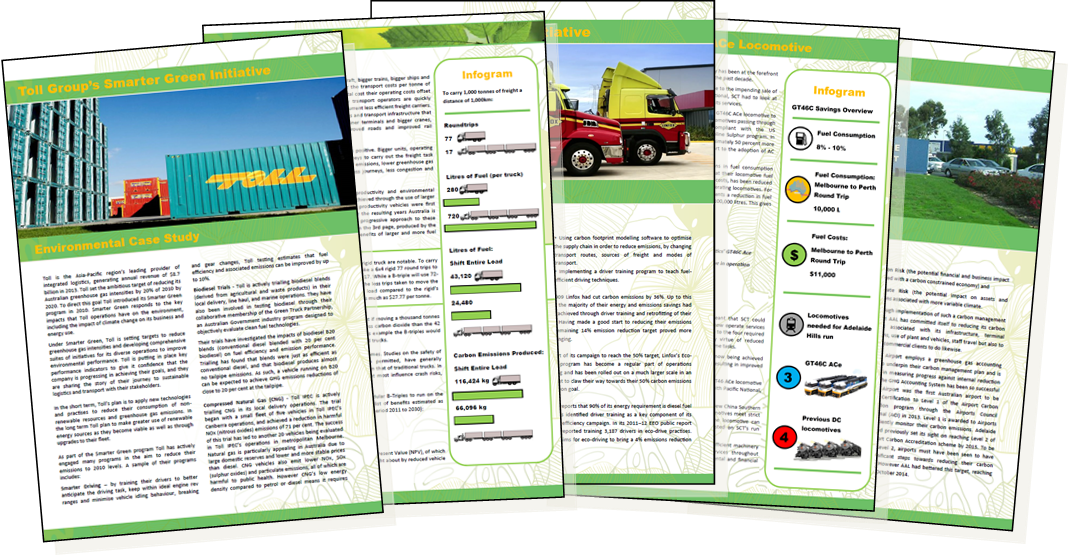 SCT Logistics - Fuel Efficiency Choices | Sustainable Freight